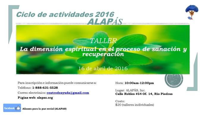Talleres Alapas_Promo